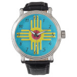 New Mexico Zia Sun Watches at Zazzle