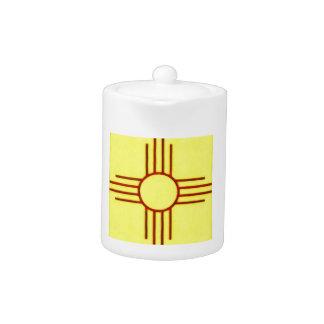 New Mexico Zia Teapot
