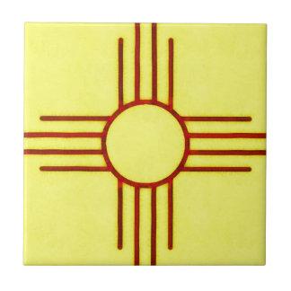 New Mexico Zia Tile