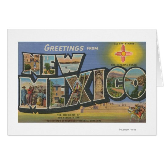 New MexicoLarge Letter ScenesNew Mexico Card