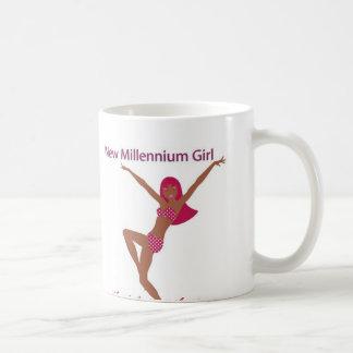 New Millennium Girl Brown Mug