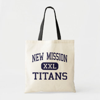 New Mission - Titans - High - Roxbury Tote Bags