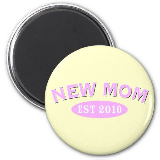 New Mom 2010 2 Inch Round Magnet
