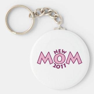 New Mom 2011 Keychain