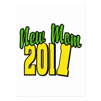 New Mom 2011 Post Card