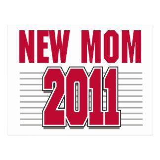 New Mom 2011 Postcard