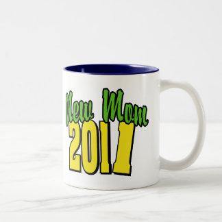 New Mom 2011 Two-Tone Coffee Mug