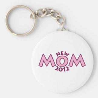 New Mom 2012 Keychain