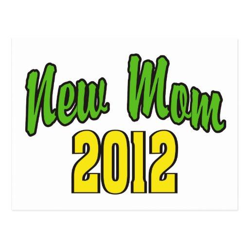 New Mom 2012 Postcard