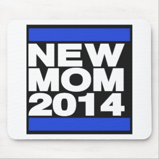 New Mom 2014 Blue Mouse Pad