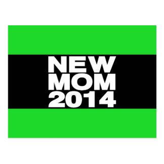 New Mom 2014 Lg Green Postcard