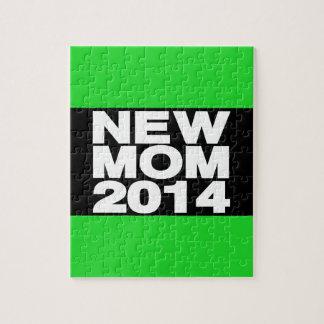 New Mom 2014 Lg Green Jigsaw Puzzle