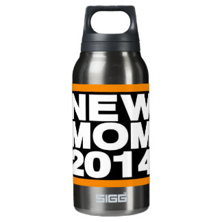 New Mom 2014 Lg Orange Insulated Water Bottle