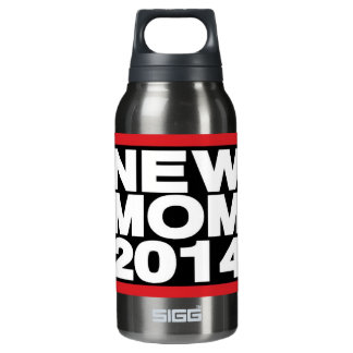 New Mom 2014 Lg Red Insulated Water Bottle