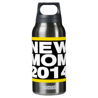 New Mom 2014 Lg Yellow Insulated Water Bottle
