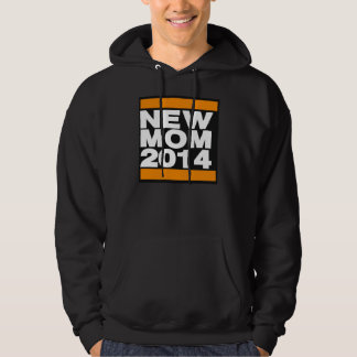 New Mom 2014 Orange Hoodie