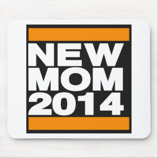 New Mom 2014 Orange Mouse Pad
