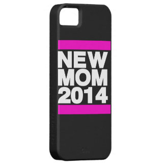 New Mom 2014 Pink iPhone SE/5/5s Case