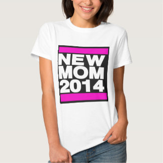 New Mom 2014 Pink T Shirts