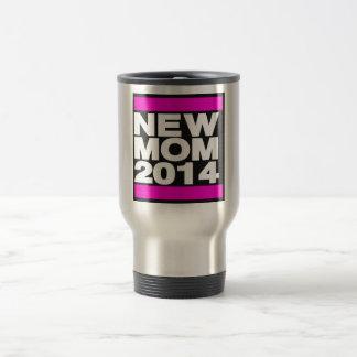 New Mom 2014 Pink Travel Mug