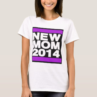 New Mom 2014 Purple T-Shirt
