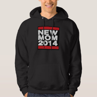 New Mom 2014 Red Hoodie
