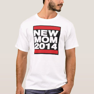 New Mom 2014 Red T-Shirt