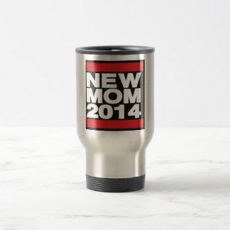 New Mom 2014 Red Travel Mug
