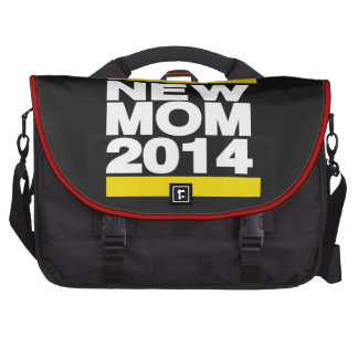 New Mom 2014 Yellow Laptop Bag
