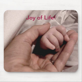 New Mom and Baby - Joy of Life Mouse Pad