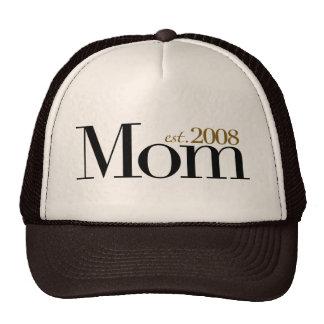 New Mom Est 2008 Trucker Hat