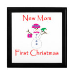 New Mom First Christmas Gift Box