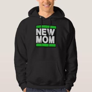New Mom Green Hoodie