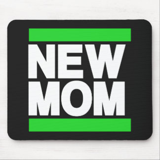 New Mom Green Mouse Pad