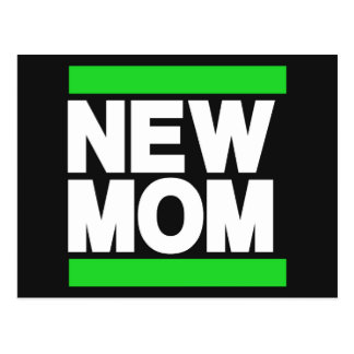New Mom Green Post Cards