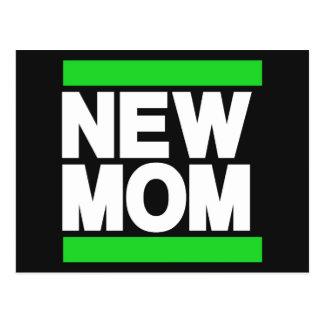 New Mom Green Postcard