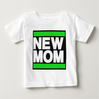 New Mom Green T-shirt
