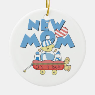 New Mom It s a Boy Gifts Christmas Ornaments