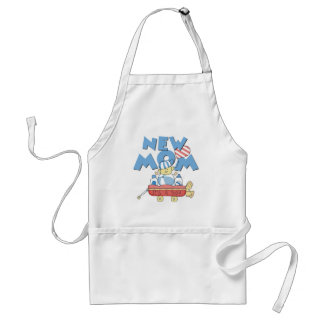 New Mom It's a Boy Tshirts and Gifts Adult Apron