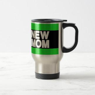 New Mom Lg Green Travel Mug