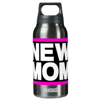 New Mom Lg Pink Insulated Water Bottle