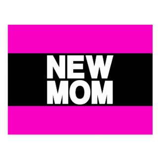 New Mom Lg Pink Postcard