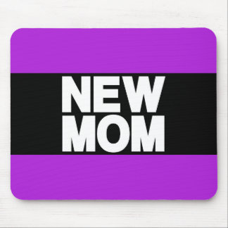 New Mom Lg Purple Mouse Pad