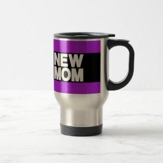 New Mom Lg Purple Travel Mug