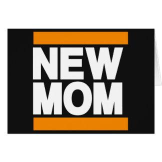 New Mom Orange Card