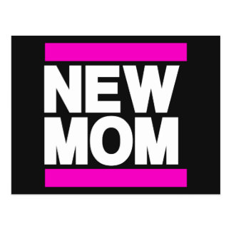 New Mom Pink Post Card