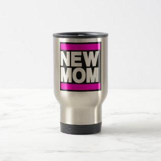 New Mom Pink Travel Mug