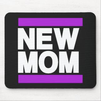 New Mom Purple Mouse Pad