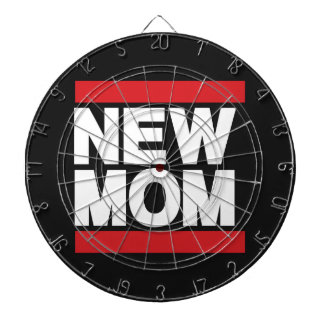 New Mom Red Dartboards