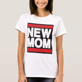 New Mom Red T-Shirt